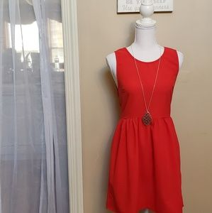 Red dress by coincidence and chance, Size S